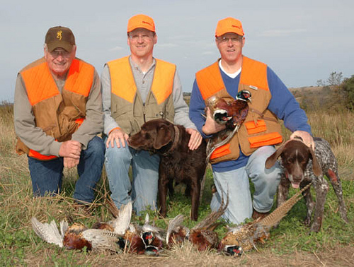 Pheasant Hunting In Nebraska - 402-304-1192
